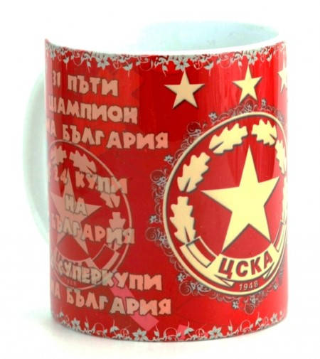 Чаша CSKA Ceramic Mug Champion Cups 500722