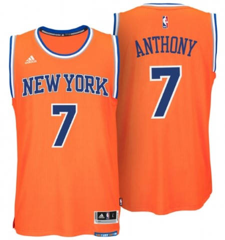Официален Екип NBA NEW YORK KNICKS Carmelo Anthony Adidas Jersey 101297a