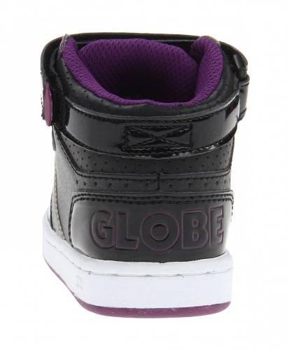 Бебешки Обувки GLOBE Superfly-Kids Velcro W13 300254 30302400303 - BLACK DARK PURPLE изображение 4
