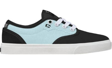 Детски Обувки GLOBE Motley Kids S13 300242 30302400272 - VINTAGE BLACK/SOFT BLUE