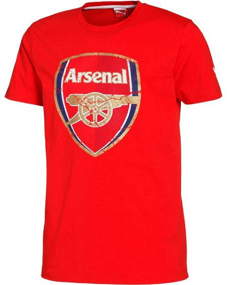 Мъжка Тениска ARSENAL PUMA Big Logo Fan T-Shirt 501260 74648001