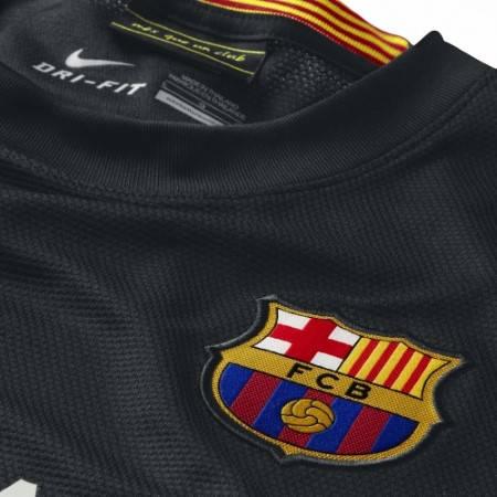 Официална Фланелка Барселона BARCELONA Mens Third Shirt 13-14 500841a  изображение 3