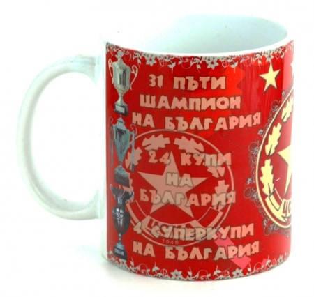 Чаша CSKA Ceramic Mug Champion Cups 500722  изображение 3