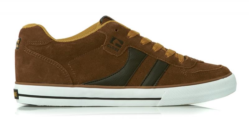 Мъжки Обувки GLOBE Encore 2 S13 100633d 30302400281 - TOFFEE/INCA GOLD
