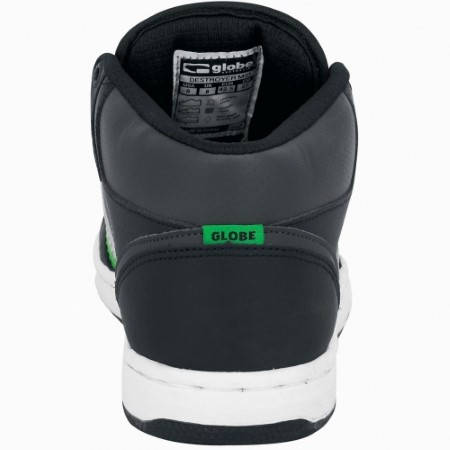 Мъжки Обувки GLOBE Destroyer Mid S12 100322 30302400245 - BLACK MOTO GREEN изображение 2