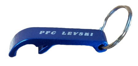 Ключодържател Отварачка LEVSKI Metal Keyring Opener 500669