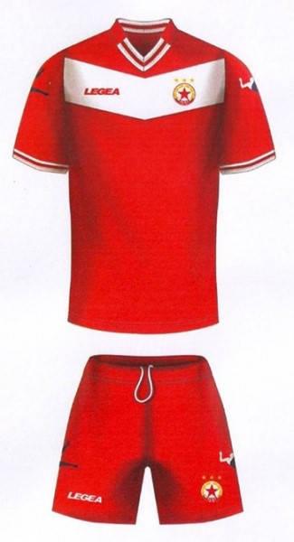 Официален Екип ЦСКА CSKA Legea Official Kit 2014-2015 501232a