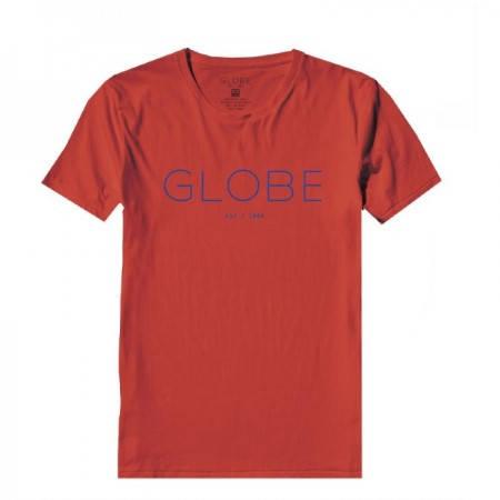 Мъжка Тениска GLOBE Phase Tee SS14 100766c 30308700700 - POPPY RED