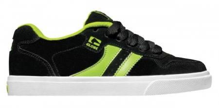 Детски Обувки GLOBE Encore Kids S13 300103c 30302400270 - BLACK /LIME
