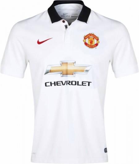 Официална Фланелка Манчестър Юнайтед MANCHESTER UNITED Mens Away Shirt 14-15 501068a