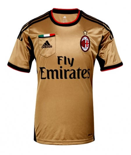 Мъжка Тениска ADIDAS Milan Mens Third Shirt 13/14 100647