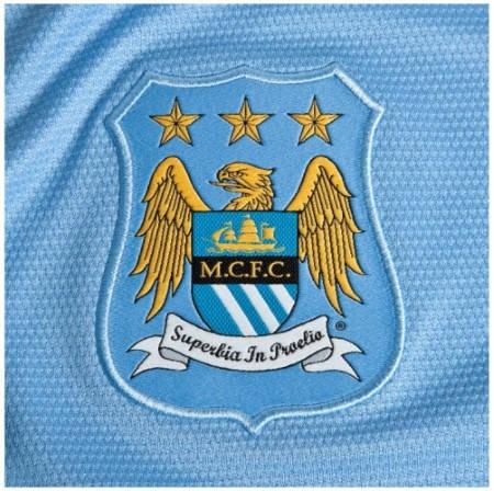 Официална Фланелка Манчестър Сити MANCHESTER CITY Mens Home Shirt 13-14 500885  изображение 4