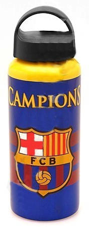 Бутилка BARCELONA Aluminium Drinks Bottle Champions 500497a