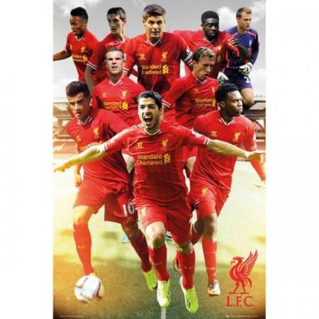 Плакат LIVERPOOL Poster Players 500970