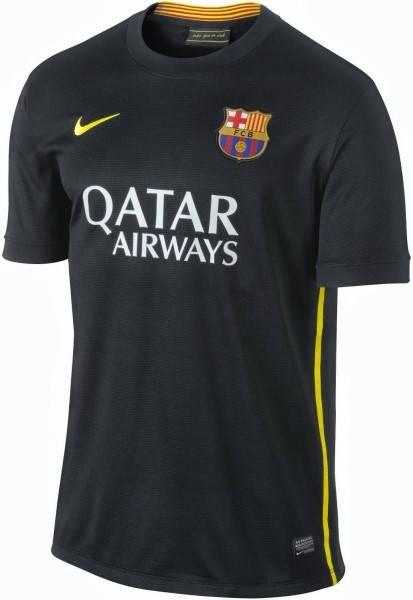 Официална Фланелка Барселона BARCELONA Mens Third Shirt 13-14 500841a