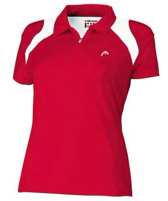 Дамска Тениска HEAD Club Women Poloshirt 200572b 814081-RDWH