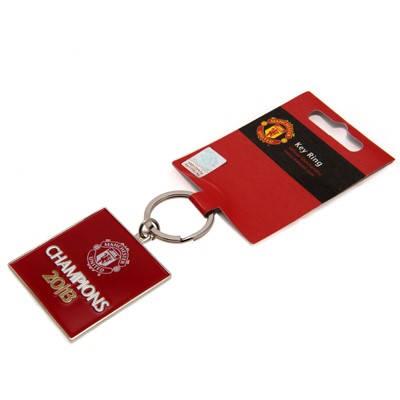 Ключодържател MANCHESTER UNITED Keyring Champions 500148b  изображение 2