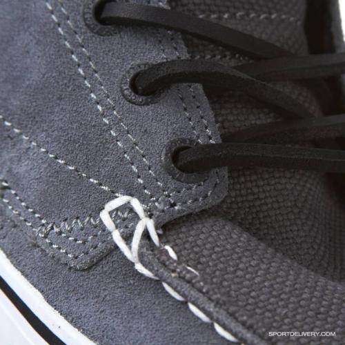 Мъжки Обувки GLOBE The Bender W11 100330 30302400239 30302400231 - CHARCOAL/WHITE/BLAC изображение 4