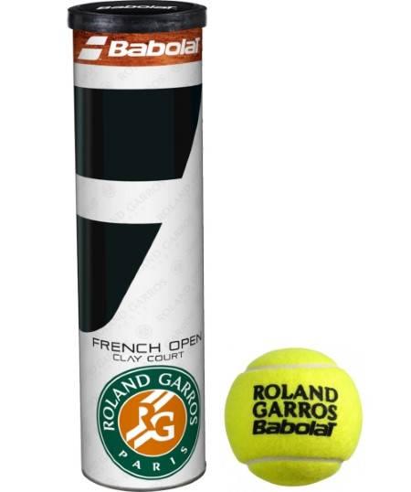 Тенис Топки BABOLAT French Open Roland Garros x4 401361 502034