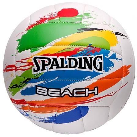 Волейболна Топка SPALDING 2011 Multi Colored Splash Beach Volleyball 400983 72-307Z