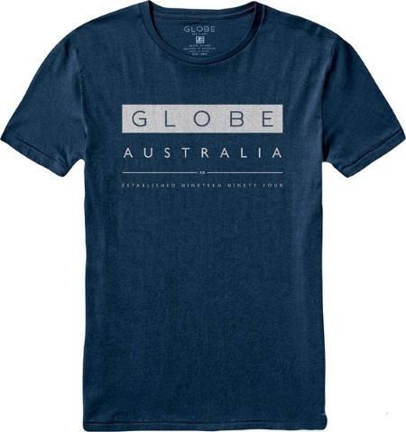 Мъжка Тениска GLOBE Liquid Tee SS14  100767a 30308700698 - PATROIT BLUE