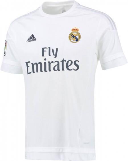 Официална Фланелка Реал Мадрид REAL MADRID Mens Home Shirt 15-16 501445