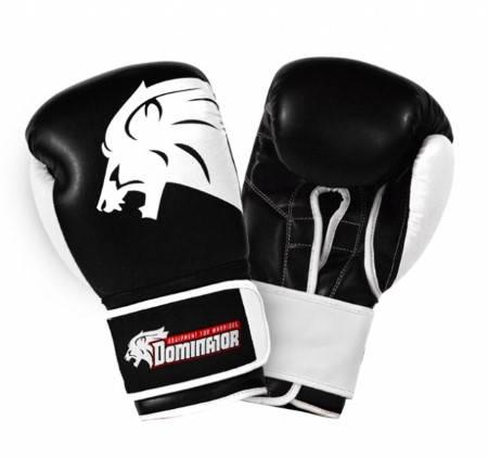 Боксови Ръкавици DOMINATOR Boxing Gloves Lion Leather 401981 15423