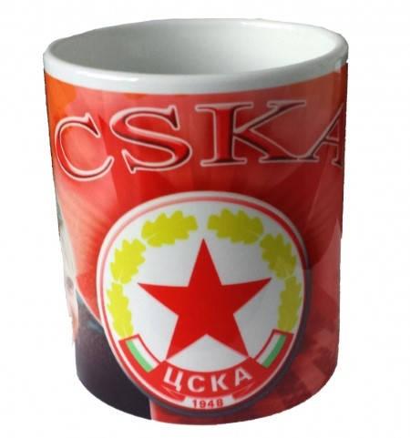 Чаша CSKA Ceramic Mug Hristo Stoichkov 8 500717a