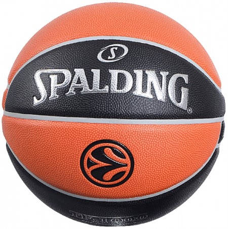 Баскетболна Топка SPALDING TF-1000 EuroLeague Official Ball 402191 029321745384