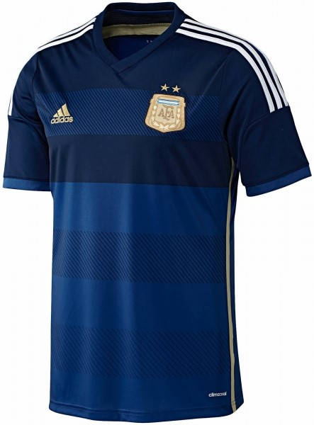 Официална Фланелка Аржентина ARGENTINA 2014 World Cup Away Kit 500977a