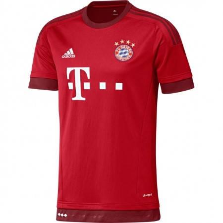 Официална Фланелка Байерн Мюнхен BAYERN MUNICH Mens Home Shirt 15-16 501446
