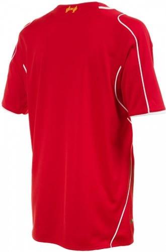 Официална Фланелка Ливърпул LIVERPOOL Mens Home Shirt 14-15 501070  изображение 4