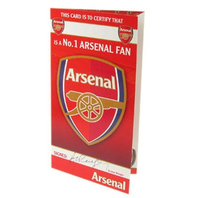 Картичка ARSENAL Birthday Card No 1 Fan 500728 x60cdfarsno изображение 2