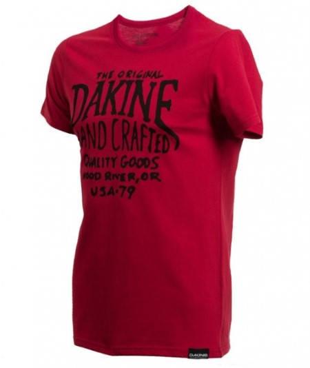 Мъжка Тениска DAKINE Hand Crafted SS14 101032 30308700709-VINTAGE RED