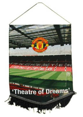 Флаг MANCHESTER UNITED  Theatre of Dreams Large Pennant 500098a