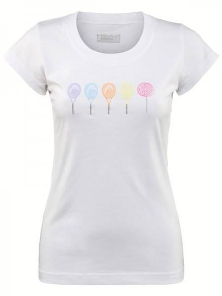 Дамска Тениска HEAD Drift T-Shirt SS14 200563 DRIFT T-SHIRT 814204 -WHPK