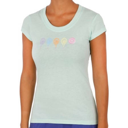 Дамска Тениска HEAD Drift T-Shirt SS14 200563 DRIFT T-SHIRT 814204 -WHPK изображение 4