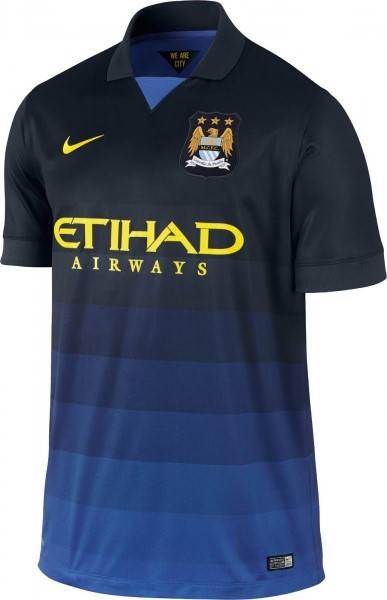 Официална Фланелка Манчестър Сити MANCHESTER CITY Mens Away Shirt 14-15 501109a