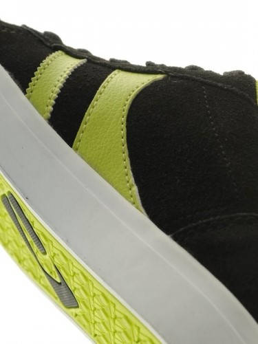 Детски Обувки GLOBE Encore Kids S13 300103c 30302400270 - BLACK /LIME изображение 3