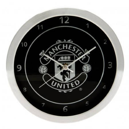 Стенен Часовник MANCHESTER UNITED Metallic Wall Clock 500064b