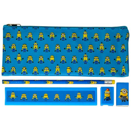 Ученически Пособия DESPICABLE ME 5Pc Stationery Set 501332 11226
