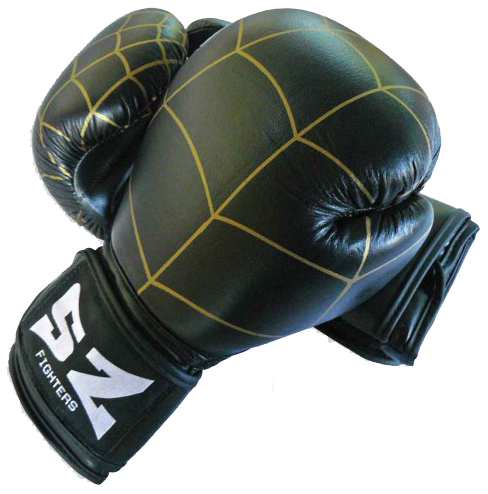Боксови Ръкавици SZ FIGHTERS Net Leather Boxing Gloves 401615