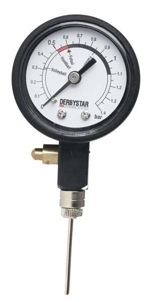 Манометър DERBYSTAR Ball Air Pressure Gauge 400157