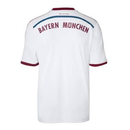 Официална Фланелка Байерн Мюнхен BAYERN MUNICH Mens Away Shirt 14-15 501083a  изображение 2