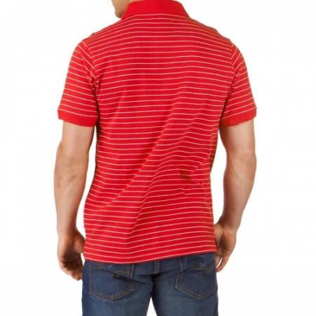 Мъжка Тениска CSKA Striped Polo Shirt 501251  изображение 2