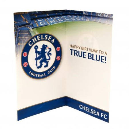Картичка CHELSEA Birthday Card No 1 Fan 500730 w12canch-z01carchno изображение 2