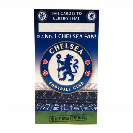 Картичка CHELSEA Birthday Card No 1 Fan 500730 w12canch-z01carchno изображение 3