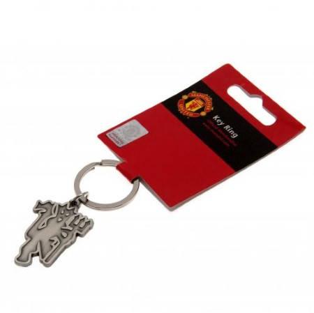 Ключодържател MANCHESTER UNITED Keyring Antique Red Devil 500148d  изображение 2