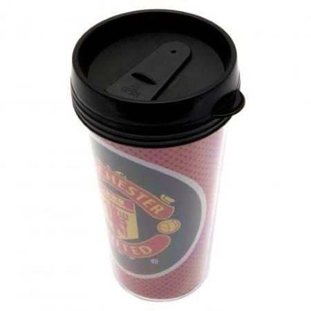 Чаша MANCHESTER UNITED Plastic Travel Mug 501129 10807 изображение 2