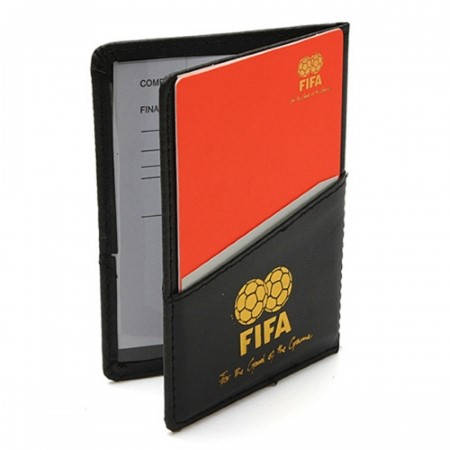 Комплект Съдийски Картони OFFICIAL FIFA Champion Football Referee Cards Set 402106 200800 изображение 4